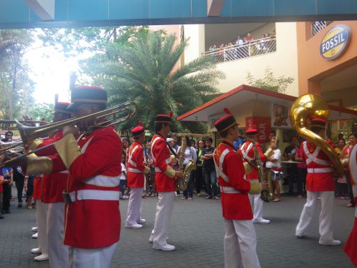 in the band