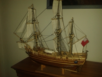 HMAV Bounty model