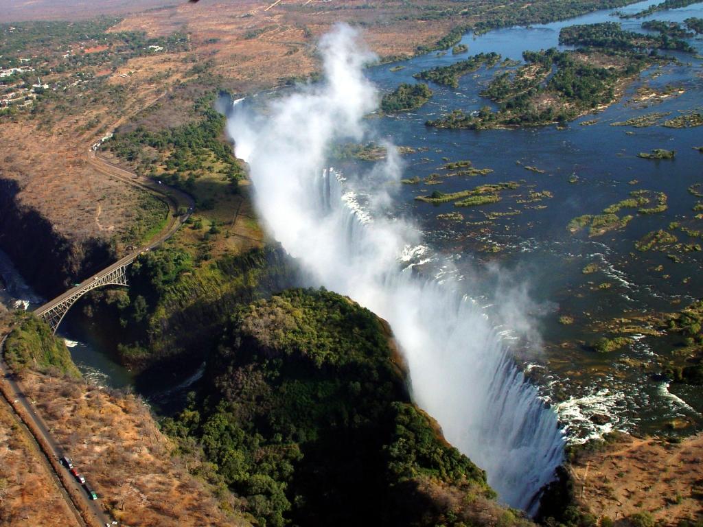 2- Victoria Falls, Zambia