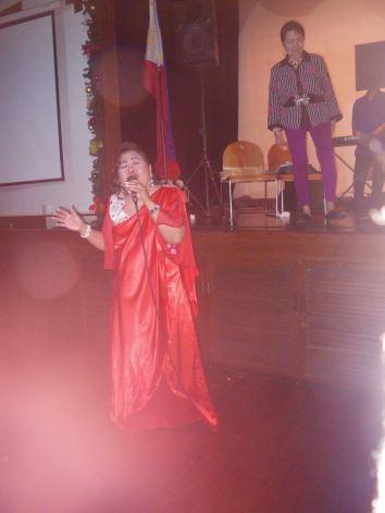 Mom singing