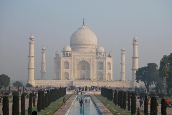 seeing Taj Mahal was a wonderful experience