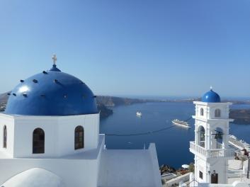 blue Santorini