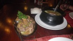 beef shank and chicken tinola soup