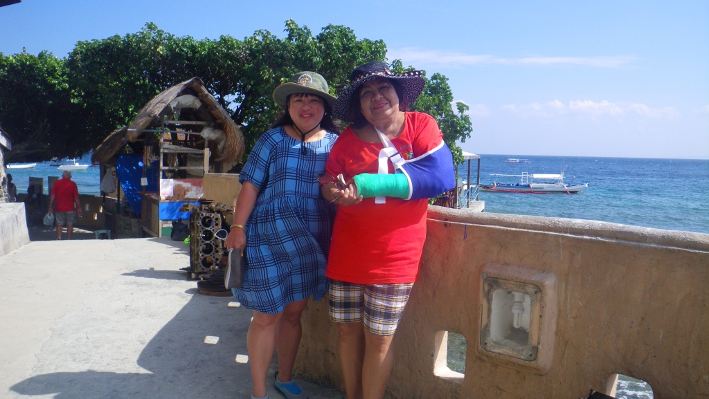 My Mom and I on holiday at Puerto Galera, Philippines. We had such fun together!