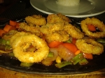sweet and sour calamares