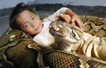 a-boy-and-his-python