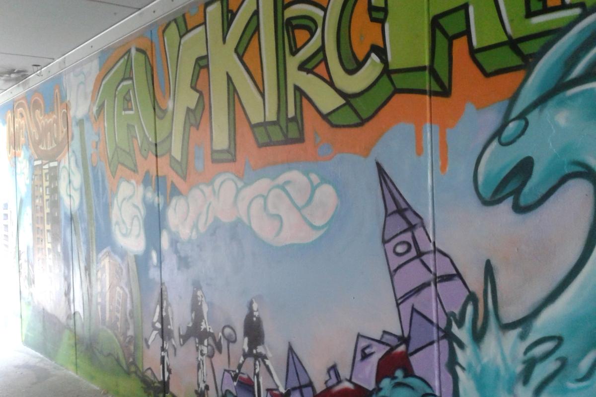 Writing 101 day 8 graffiti