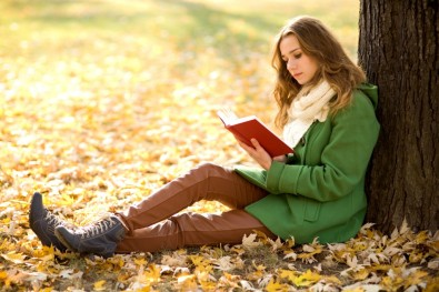 Girl-reading-book-