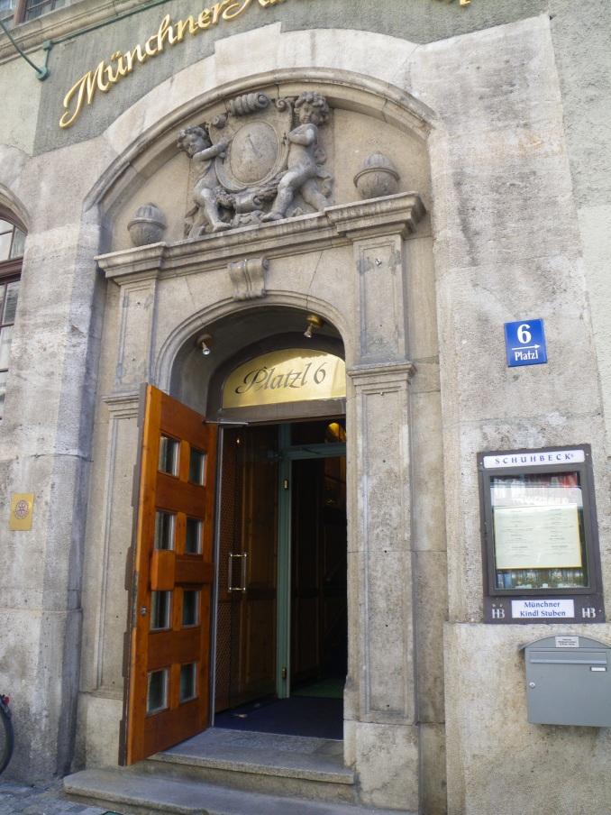 exit through the door
