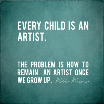 PicassoQuote-EveryChildisanArtist