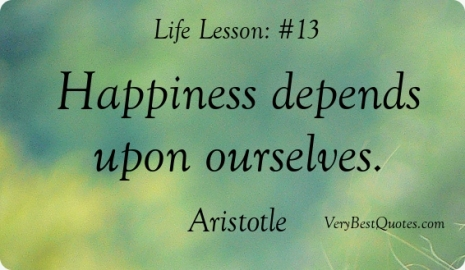 essay on happiness depends upon ourselves This site might help you re: &quothappiness depends upon ourselves&quot what does this quote mean what does this quote mean and how does it link to literature and historyplease helpbecause i need to write an expository essay on this.