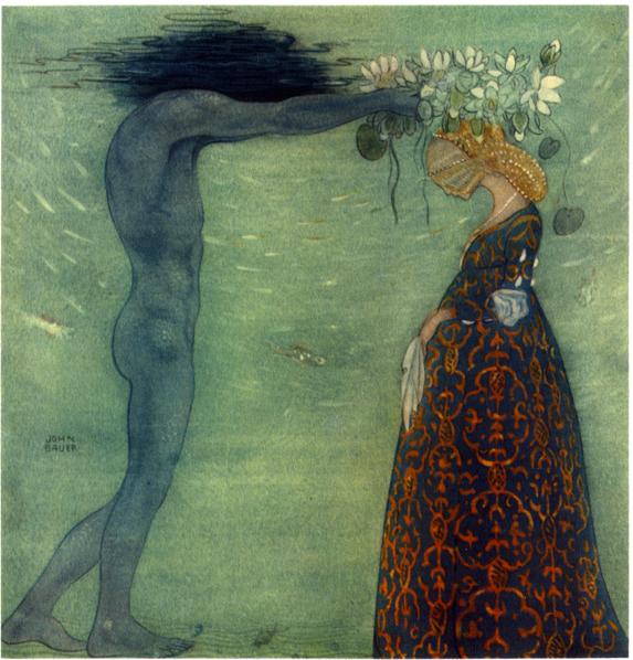 sjoekungens_drottning_by_john_bauer_1911